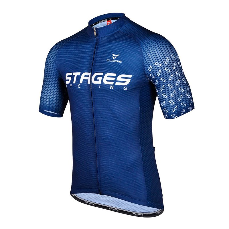 Stages Cycling Jersey   Navy