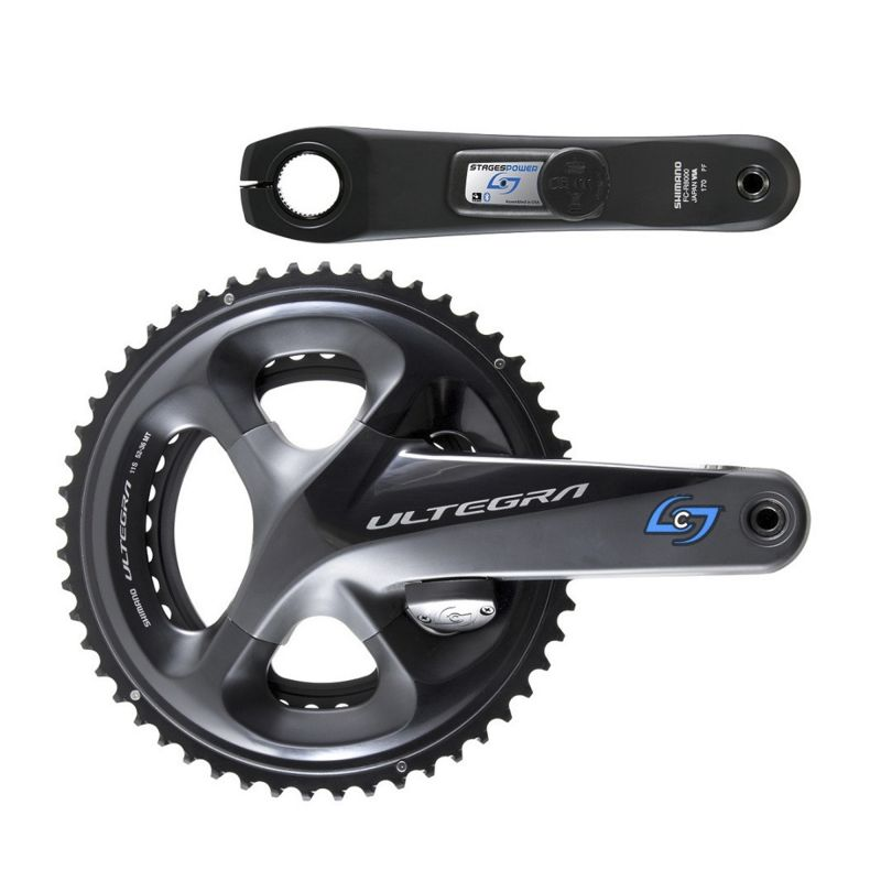GEN 3 STAGES POWER LR   Shimano ULTEGRA R8000 CRANKSET WITH BI-LATERAL POWER