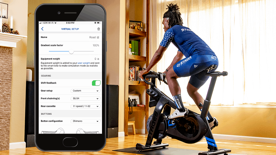 2.8 Update for Stages Link App Adds New Features to StagesBike Experience