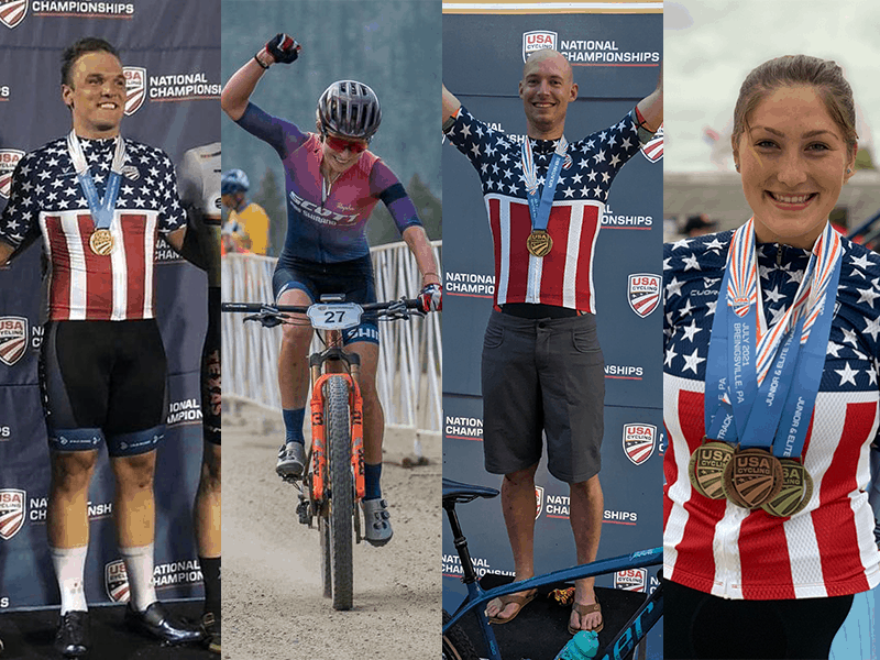 Stages Athletes In Stars and Stripes